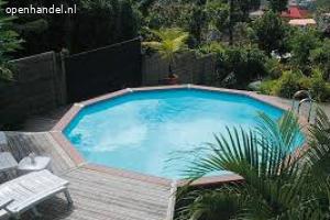 Zwembad Azteck 4 of 5: rond halfgronds